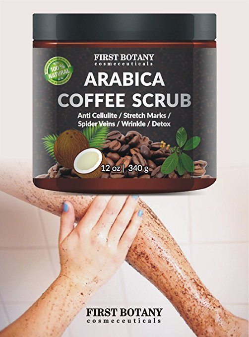 body scrub caffeine cellulite