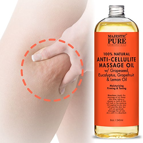 majestic pure anti cellulite oil