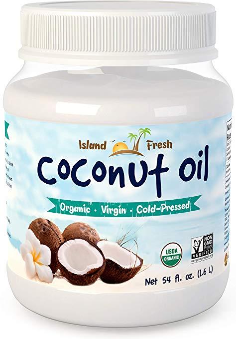 island fresh coconut oil for cellulite